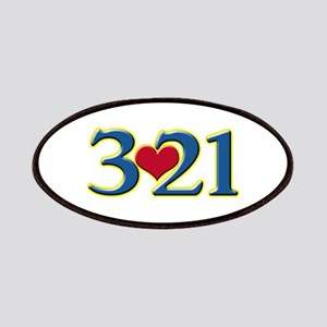 321 Down Syndrome Awareness Day Patch