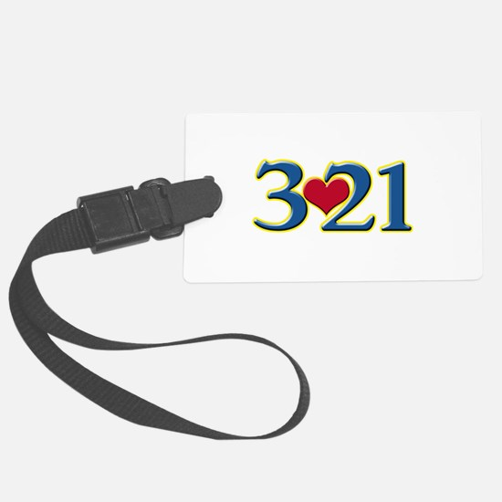 321 Down Syndrome Awareness Day Luggage Tag