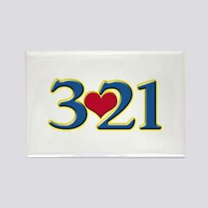 321 Down Syndrome Awareness Day Magnets