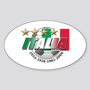 Italian soccer emblem Oval Sticker