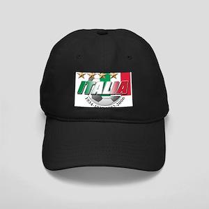 Italian soccer emblem Black Cap