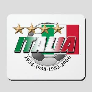 Italian soccer emblem Mousepad