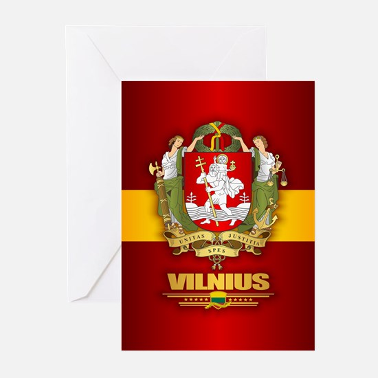 Vilnius Greeting Cards