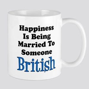 Happiness Married To Someone British Mugs