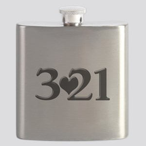 321 Down Syndrome Awareness Day Flask