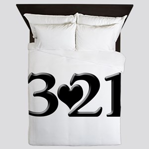 321 Down Syndrome Awareness Day Queen Duvet