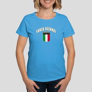 Forza azzurri Women's Dark T-Shirt