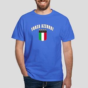 Forza azzurri Dark T-Shirt