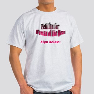 Woman of the Year Light T-Shirt