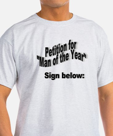 Man of the Year T-Shirt