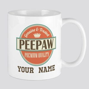 Peepaw Grandpa Personalized Gift Mugs