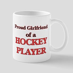 Proud Girlfriend of a Hockey Player Mugs