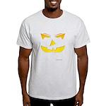 Maniacal Carved Pumpkin Light T-Shirt