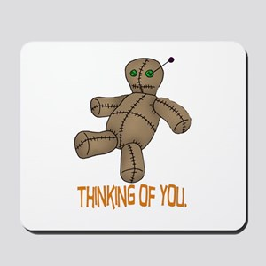 Voodoo Doll Mousepad