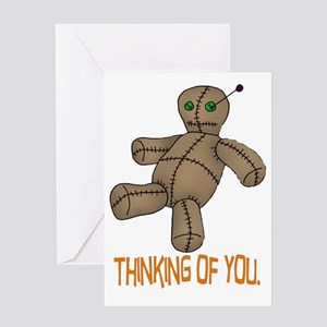 Voodoo Doll Greeting Card