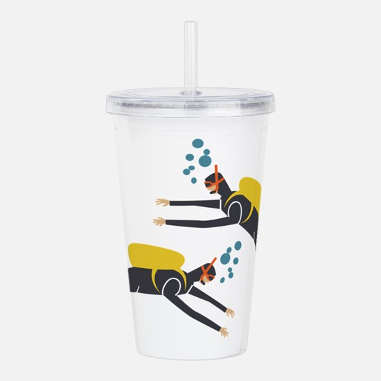 Divers Acrylic Double-wall Tumbler