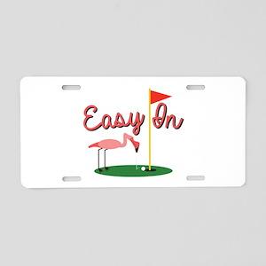 Easy In Aluminum License Plate