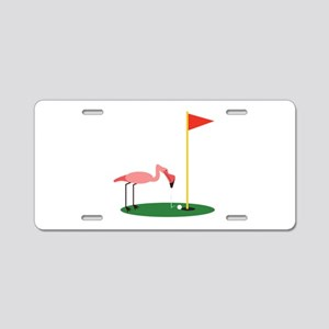 Golf Birdy Aluminum License Plate
