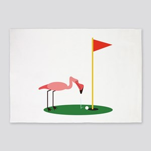Golf Birdy 5'x7'Area Rug