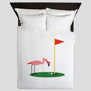 Golf Birdy Queen Duvet