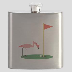Golf Birdy Flask