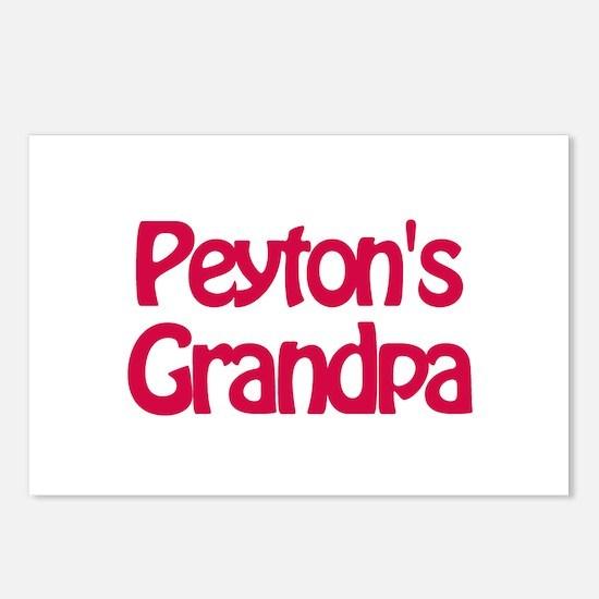 Peyton's Grandpa Postcards (Package of 8)