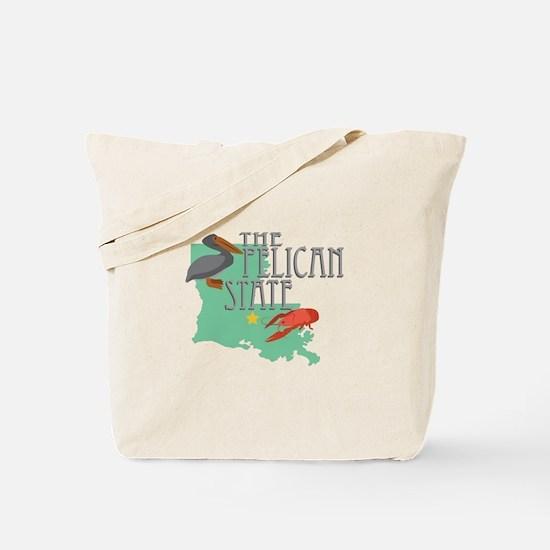 Pelican State Tote Bag