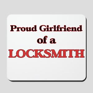 Proud Girlfriend of a Locksmith Mousepad