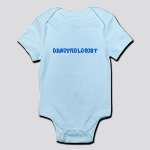 Ornithologist Blue Bold Design Body Suit