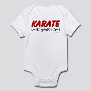 KARATE (world's greatest spor Infant Bodysuit