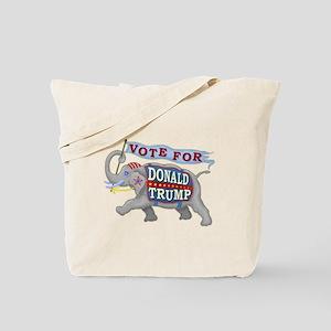 Donald Trump 2016 Elephant President Tote Bag