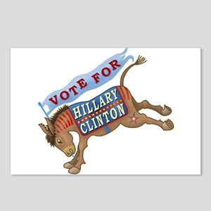 Hillary Clinton 2016 Pres Postcards (Package of 8)