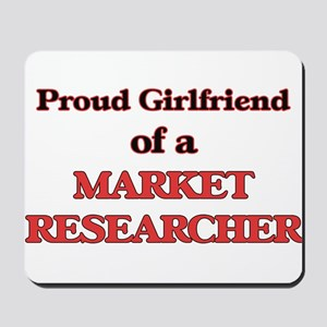 Proud Girlfriend of a Market Researcher Mousepad