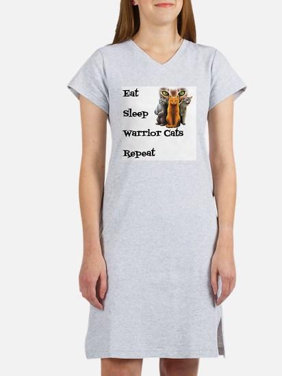 Cute Warrior Women's Nightshirt