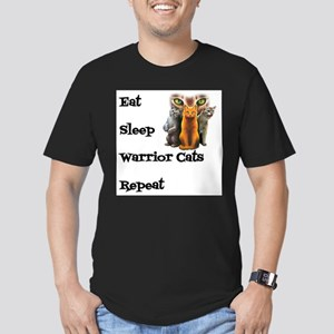 Eat Sleep Warrior Cats Repeat T-Shirt