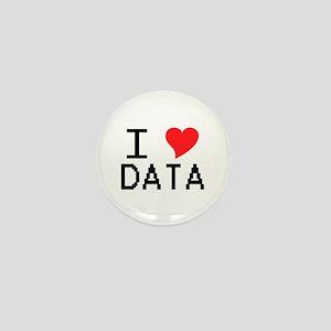 I Heart Data Mini Button
