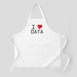 I Heart Data BBQ Apron