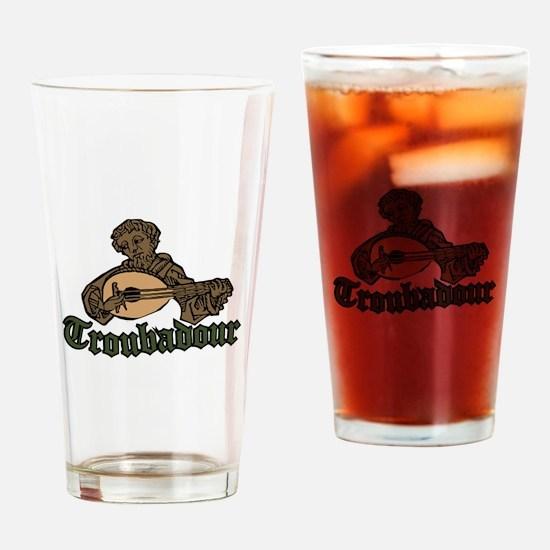 Troubadour Drinking Glass