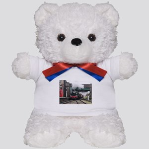 Vintage Steam railway Train at the Stat Teddy Bear