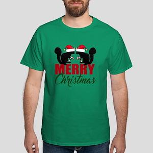 Squirrel Christmas Dark T-Shirt