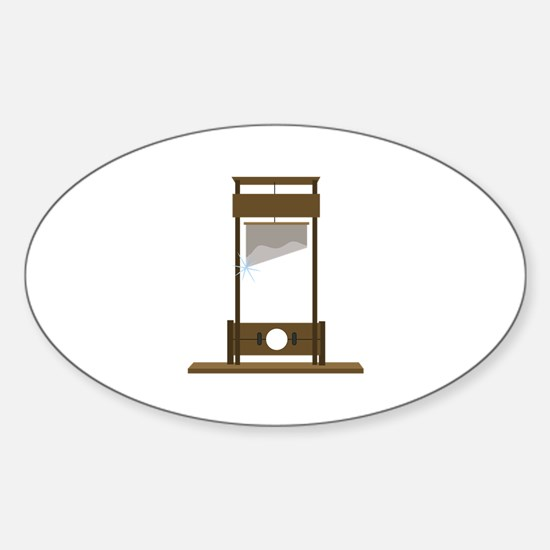 Guillotine Decal