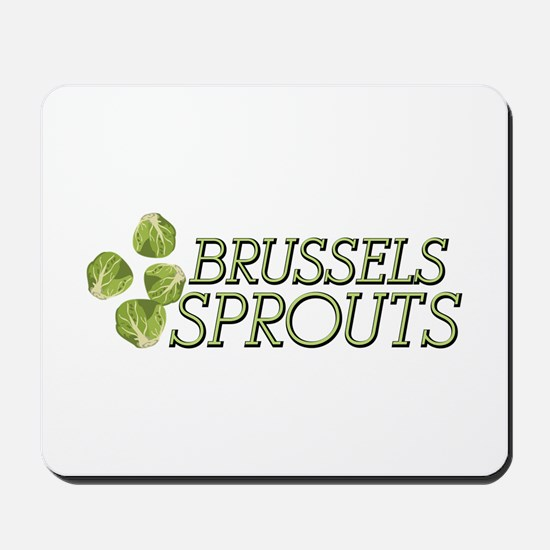 Brussels Sprouts Mousepad