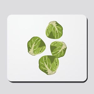 Brussel Sprouts Mousepad