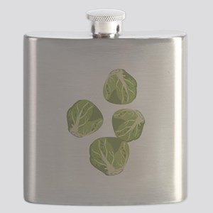 Brussel Sprouts Flask