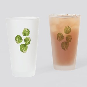 Brussel Sprouts Drinking Glass