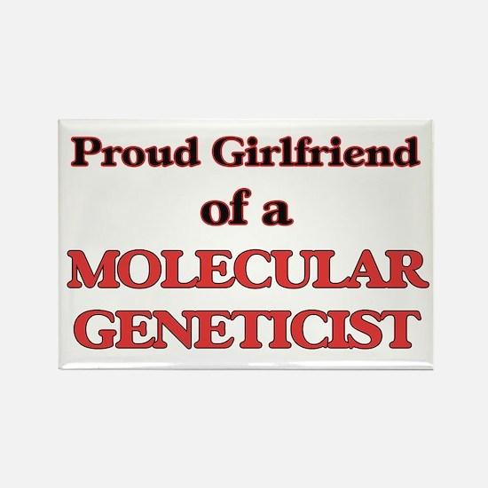 Proud Girlfriend of a Molecular Geneticist Magnets