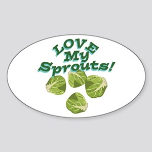 Love My Sprouts Sticker