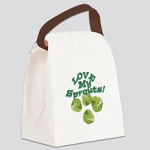 Love My Sprouts Canvas Lunch Bag