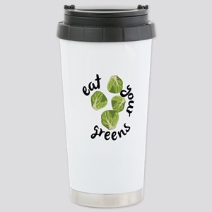 Eat Your Greens Travel Mug