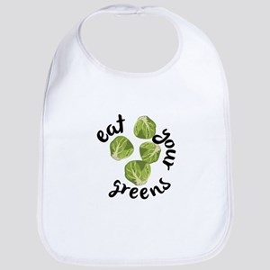 Eat Your Greens Bib
